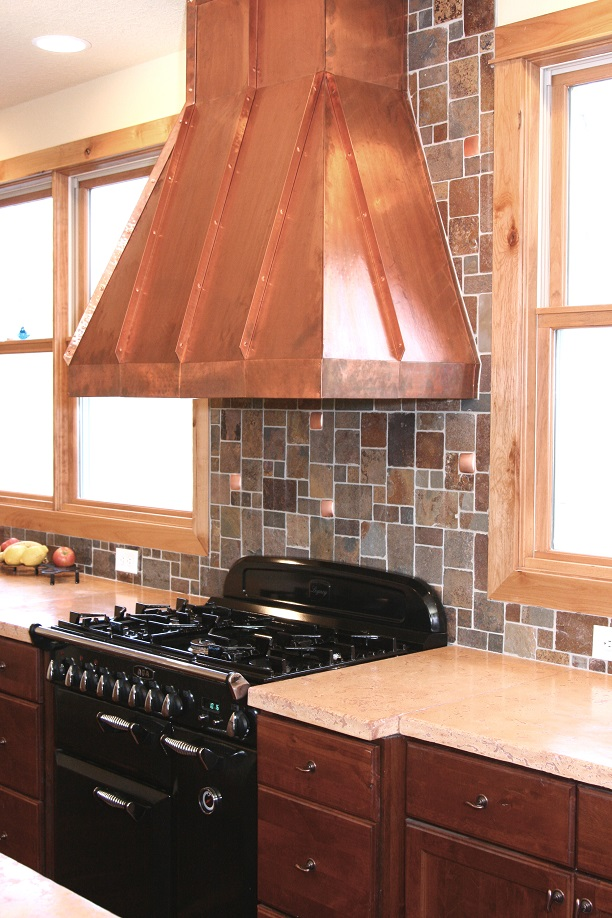 Sass Construction Inc CopperRangeHood