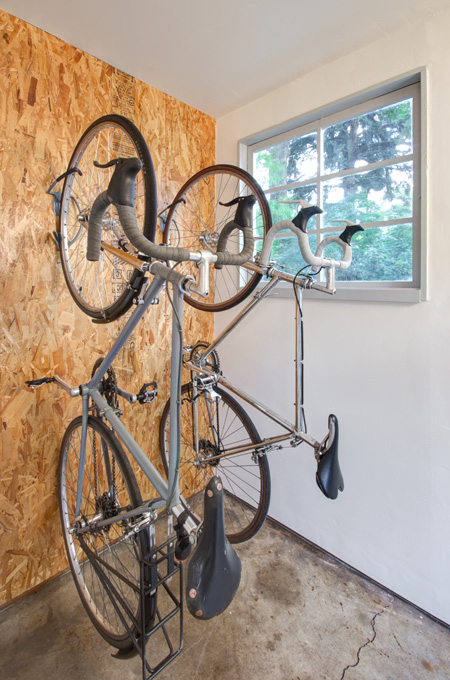 An 8x5 space for bicycle storage was added.
