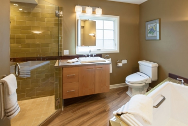 A Spa-Like Bathroom Remodel