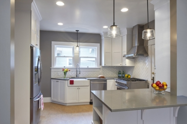 A Custom Remodel: The Solution for a Small Kitchen