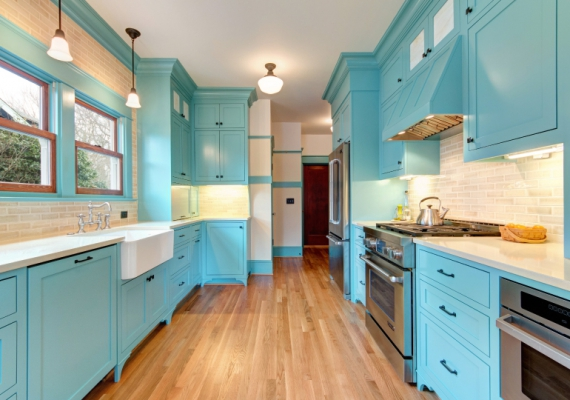 Before & After: Color and Craftsmanship in the Kitchen
