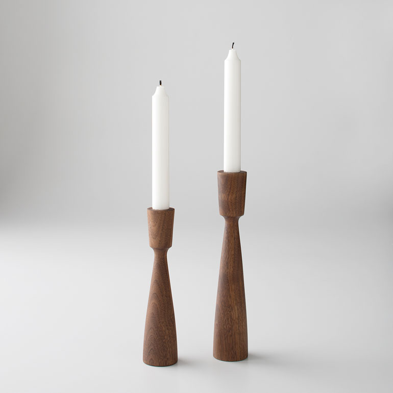 Schoolhouse candlesticks