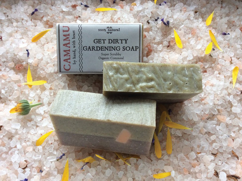 Camamu Get Dirty Gardening Soap