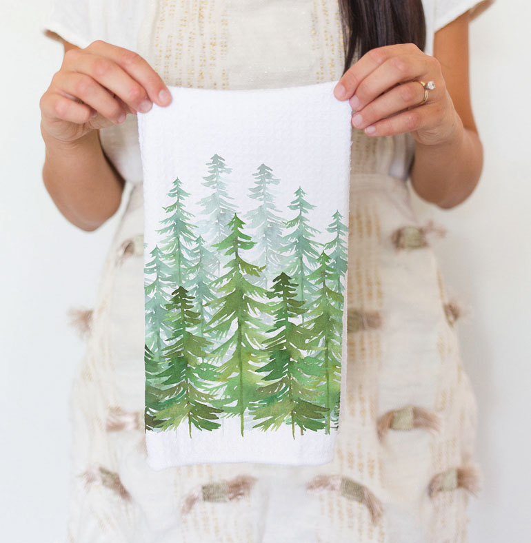 SummitSistersCo PNW Tea Towels 2