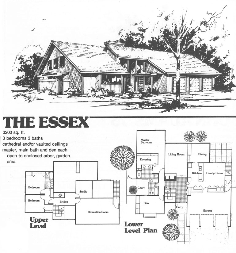 The Essex by Trademark Homes 1976