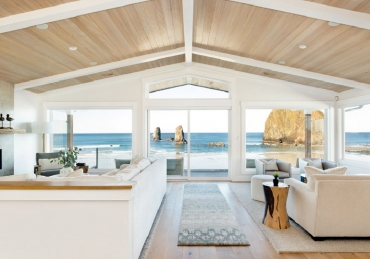 Down-to-the-Studs Beach House Renovation