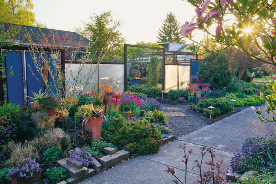The built environment: garden structures