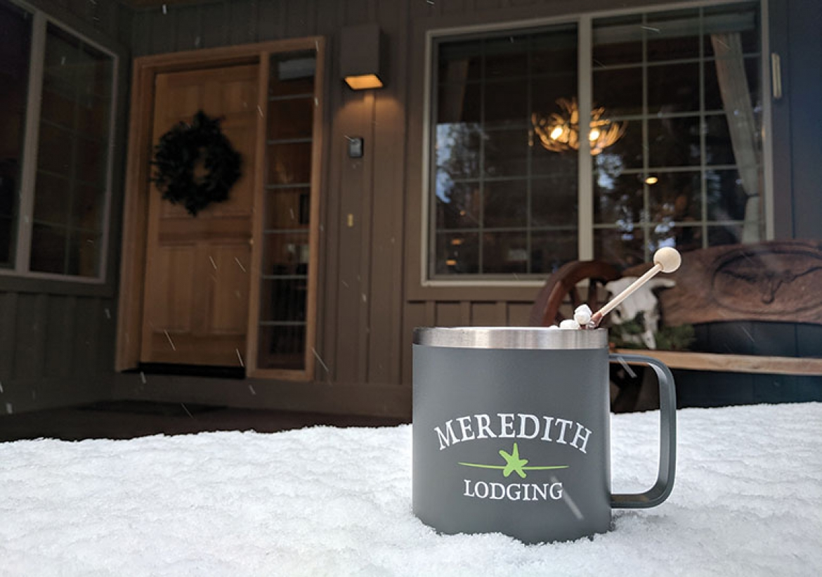 Home Away for the Holidays with Meredith Lodging