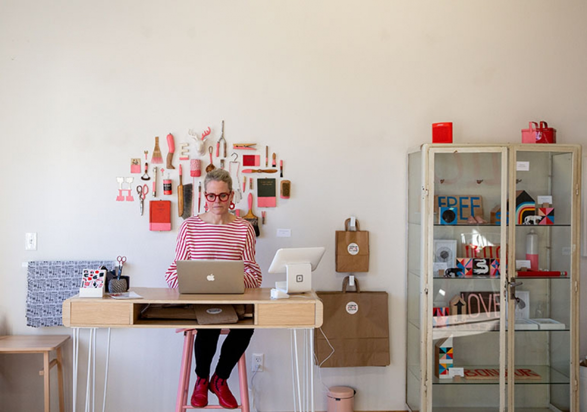 Lisa Congdon's Creative Space